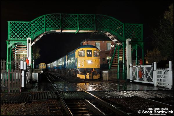 Epping Ongar Railway (14/11/2015)