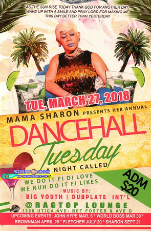"MAMA SHARON ""DANCEHALL TUESDAY""(13)"