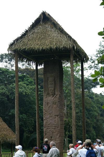 Quirigua Archaeological Ruins , Santo Tomas De Castilla, Guatemala Tuesday, Dec 26, 2006, Day 4