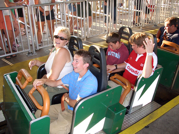 Cedar Point Amusement Park, August 1, 2005