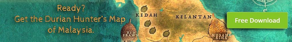 Malaysia Durian Map