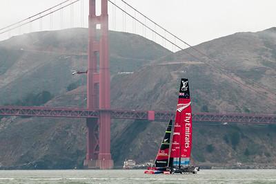 San Francisco: Segeln und Golden Gate Bridge