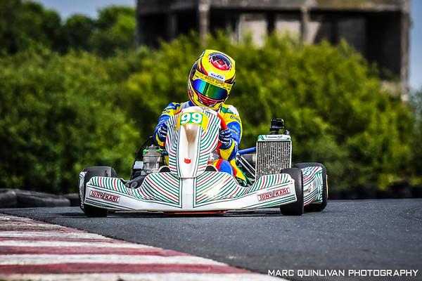 Motorsport Ireland Karting Championship 2019 - Round 4 - Nutts Corner - Alyx Coby