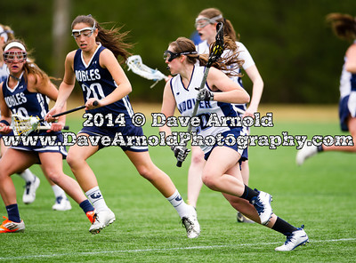 4/5/2014 - Girls Varsity Lacrosse - Andover vs Nobles