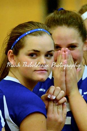 Lampeter-Strasburg Varsity Girl's Volleyball v. GS 9.16.14