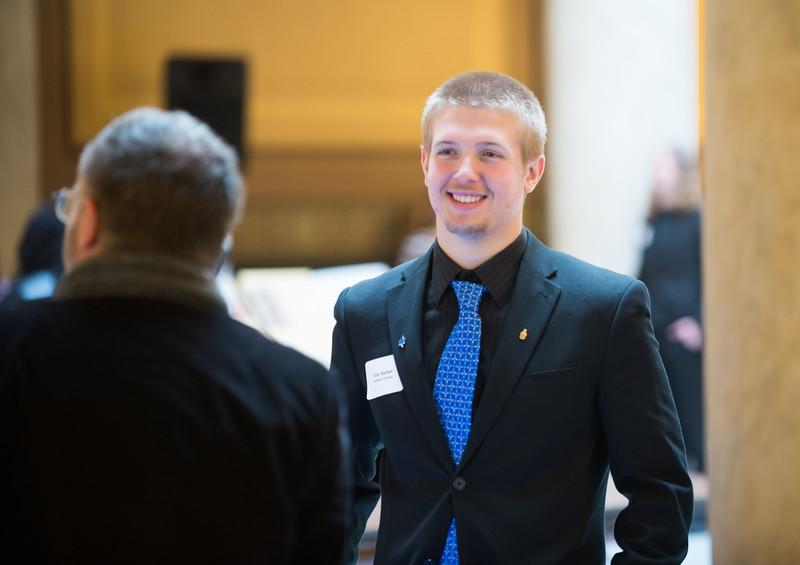 ISU honored at Indiana Statehouse