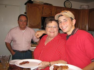 Dad, Brad, Bev & Stephs Birthdays 2005