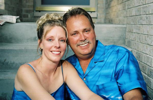 Dawn and Tim - July 13, 2002
