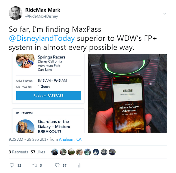 MaxPass is better than FastPass+