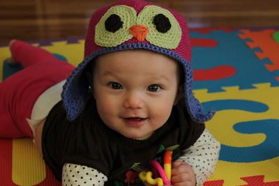 2010-10-Maggie in October