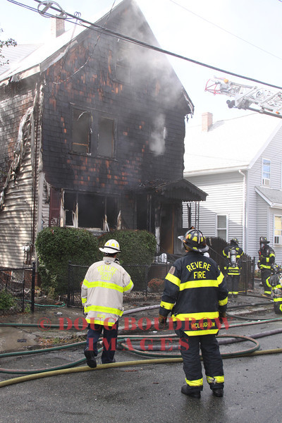 Revere, MA - 2nd Alarm, 6 Page Street, 9-22-13