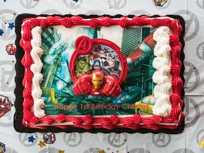 Charles' First Birthday