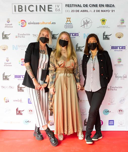 Ibicine 2021, IV Edición. Gala Clausura. Foto: Cintia Sarría/ Biqúbica