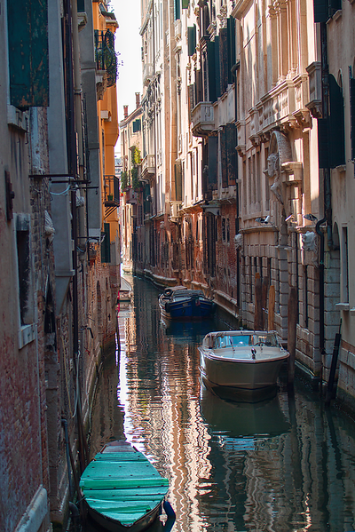 """Neighborhood Waterway"",  Venice, Italy"