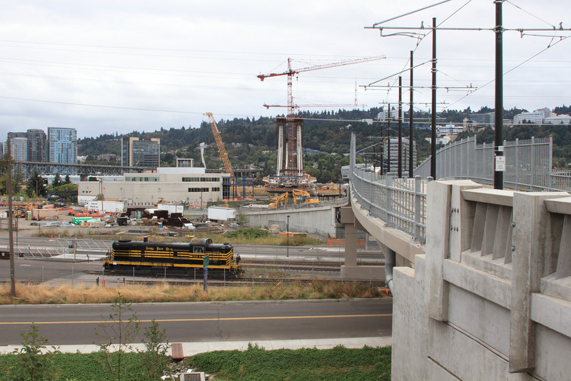 Facing West from Streetcar Alignment 02