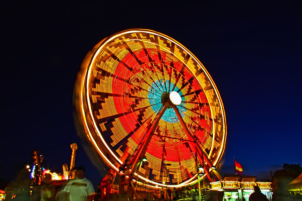 Crazy Carnie Rides Oregon State Fair 2009