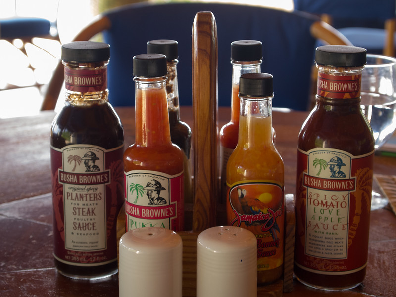 Sauces at the Morning Lounge