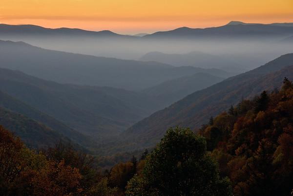 Blue Ridge and Smoky Mountains