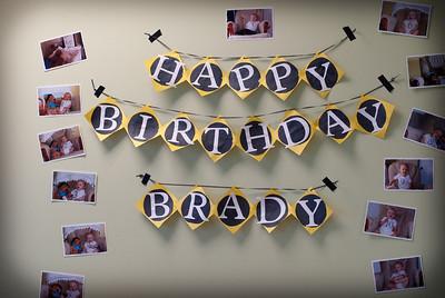 Brady's 1st Bday party