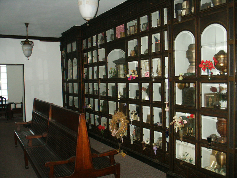 Niches in West Columbarium