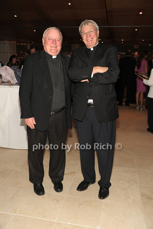 Father Pat West, Monsignor Peter Garry   photo  by Rob Rich © 2014 robwayne1@aol.com 516-676-3939
