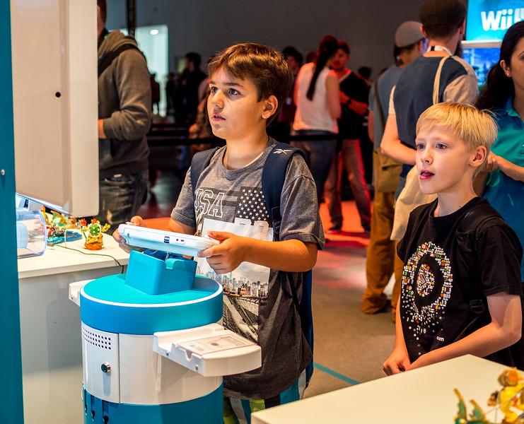 Nintendo Wii U at Gamescom 2015