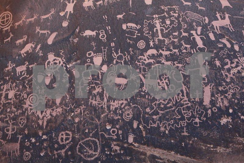 "Canyonlands, ""Newspaper Rock"" , 0493"