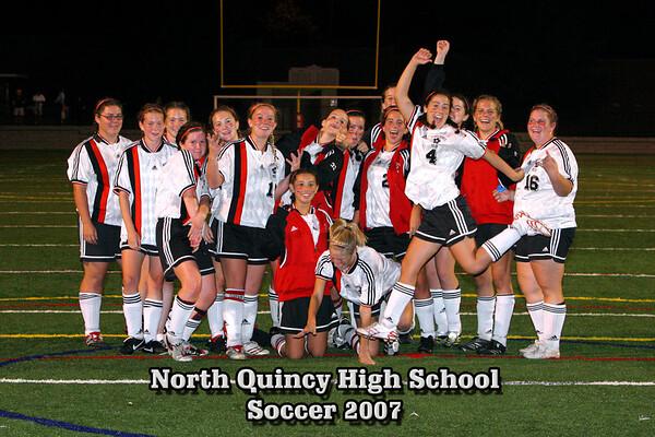 NQHS Warmups  & Sr Pictures Oct 6, 2007