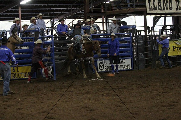 LLano Pro Rodeo Friday