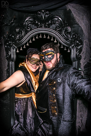 Casey & Sara's Haunted Mansion Wedding