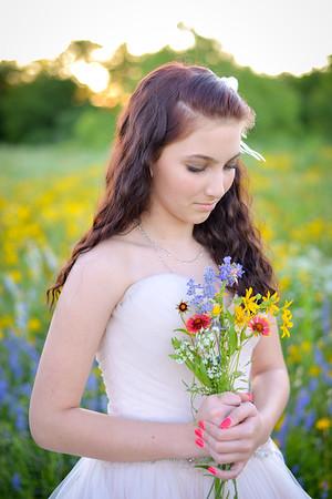 Mackinna {Traveling Dress} Texas Wildflowers