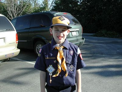 Pinewood Derby 2002