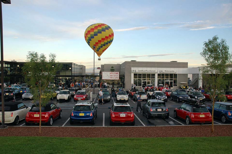 What event in Albuquerque would be complete without a hot air balloon?