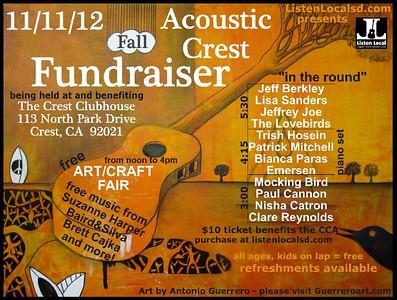 Acoustic Crest Fundraiser