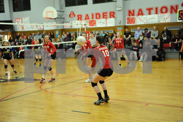 Most Holy Redeemer Girls Volleyball Night 2-13-18