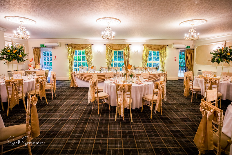 Singleton Lodge Main function room