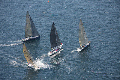Transpac 2011 Second Start (Aerial View)