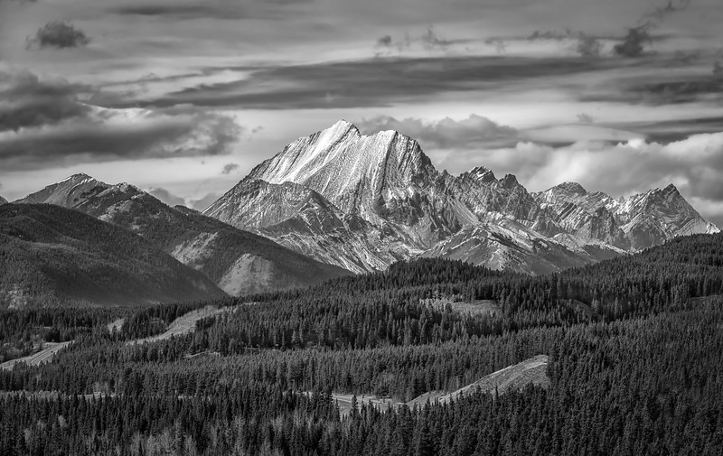 Mist Mountain in Mono