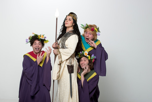 Princess Ida Publicity Shoot - April 5, 2013