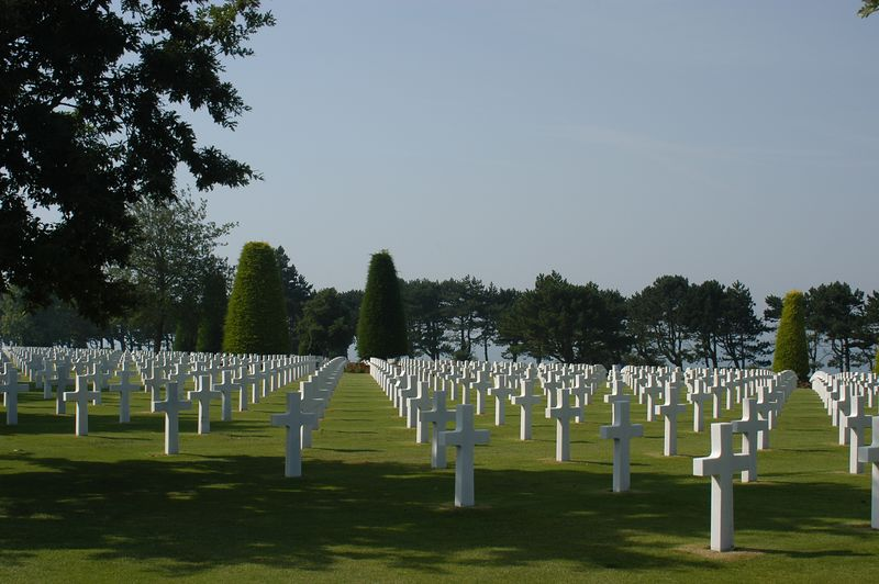 The American Cemetery in Normandie, France