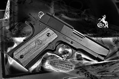 Colt 1911 Officers (ca. 1984) - 45ACP