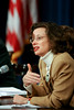 "On April 16, 2007, the White House Office of Faith-Based and Community Initiatives and USA Freedom Corps hosted a ""Compassion in Action Roundtable"" to discuss the promotion of service and civic engagement in the United States.  Michelle Nunn, Co-Founder and CEO, Hands On Network."