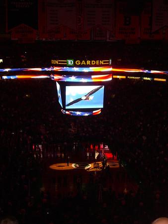 At the Celtics game 12.12.12