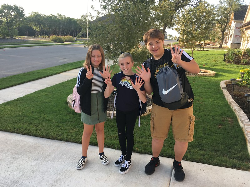 Claire, Ivy and Zach | 7th, 7th and 9th | Wiley Middle School and Rouse High School