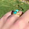 Vintage Bypass Gemstone Ring 1