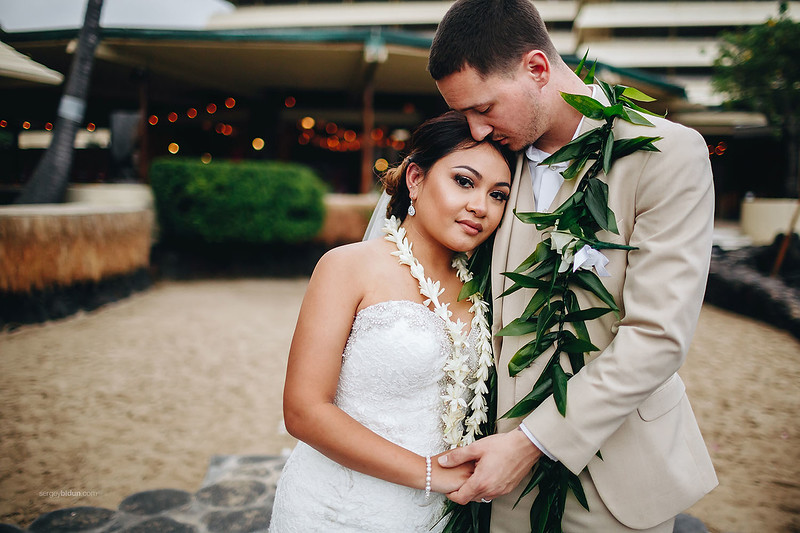 LIZETTE & NATHAN WEDDING, KONA HAWAII