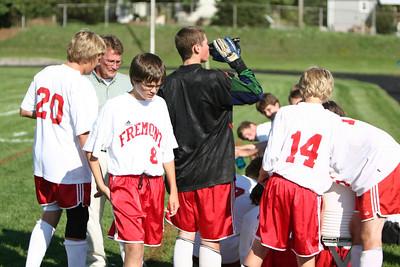 Boys JV Soccer - 2007-2008 - 9/13/2007 Newaygo (Club Team)