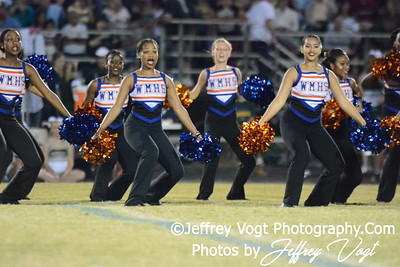 09-18-2015 Watkins Mill HS Varsity Cheerleading and Poms, Photos by Jeffrey Vogt Photography