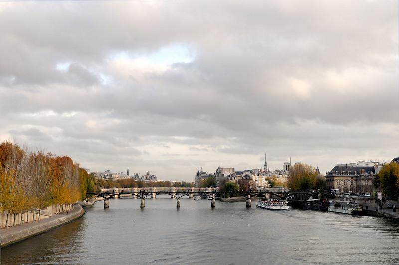 The Seine, a view.