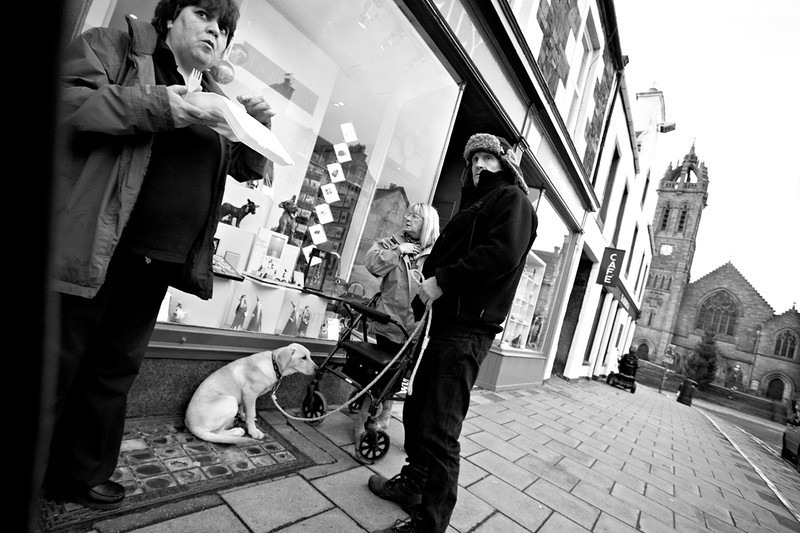 Peebles High Street - Shooting from the Hip